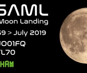 GB5AML Apollo Moon Landing