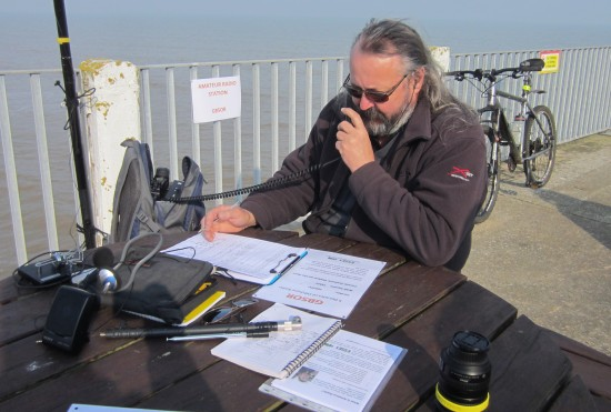 Chris G0IPU, active on 40m with GB5OR