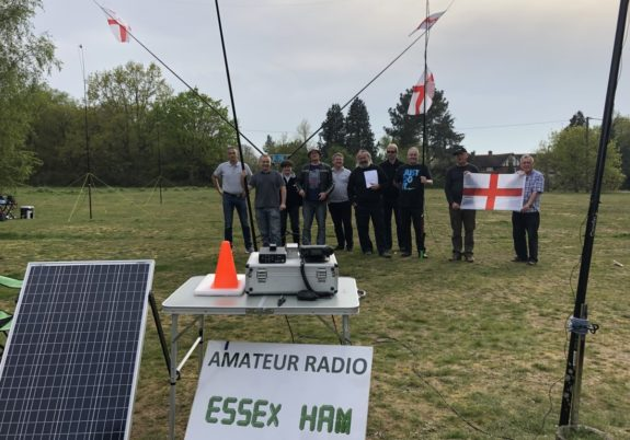 St George's Day 2019 at Galleywood Common