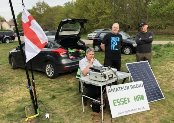 2m station active for St George's Day 2019