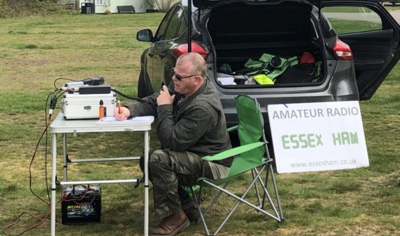 Nev operating 2m for GB5STG