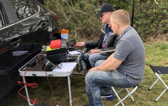 Kristian and Jakub at Galleywood Common 2019