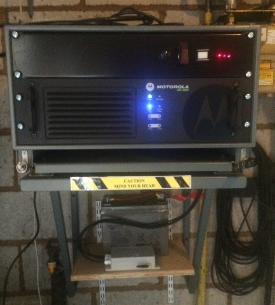GB7EX Repeater Equipment