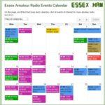 Generic Essex Ham Calendar Image