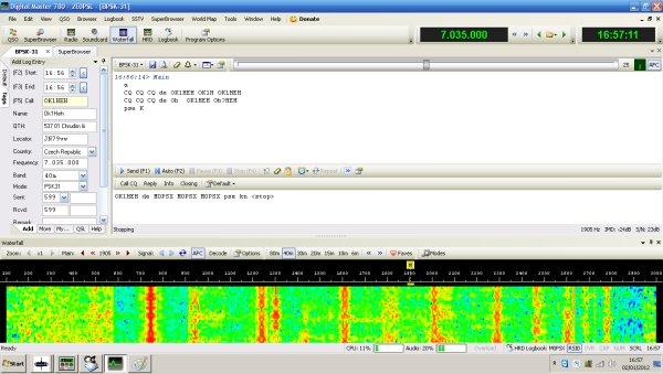 Ham Radio Deluxe Screenshot