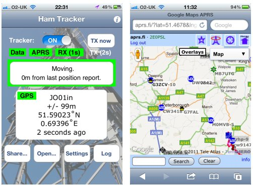 Ham Tracker iPhone App