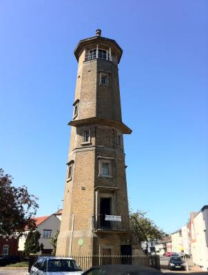 Broadcasting from Harwich High Lighthouse May 2011