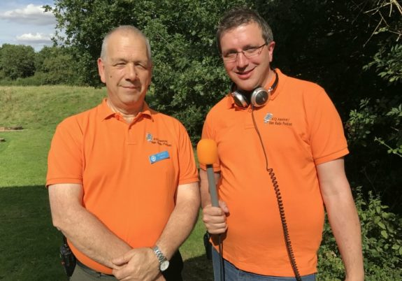 Martin M1MRB and Martin M0SGL from the ICQ Podcast