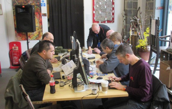 Raspberry Pi session at the Ideas Hub