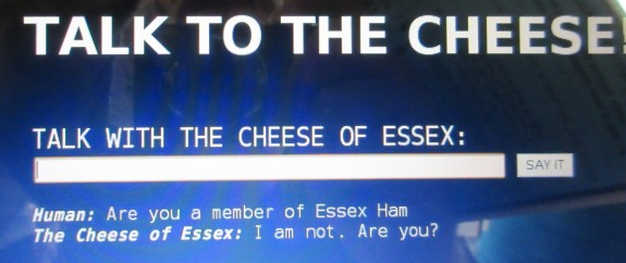 Chatting to the Essex Cheese