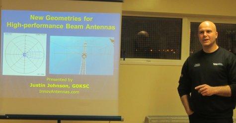 Innovantennas talk at Thames ARG