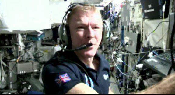 Tim Peake on Ham TV 09 May 2016