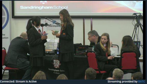 Screengrab of Sandringham School ISS Content 09 Jan 16