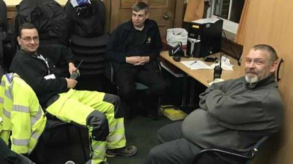 Essex RAYNET Control at DERC (11pm Thursday)