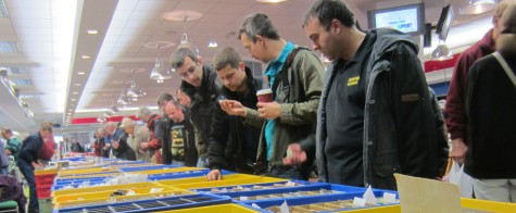 Component searching at the Kempton Rally 2013