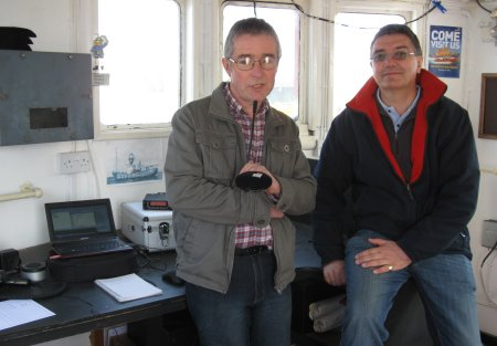 Operating from the LV18 Light Vessel in Harwich March 2012