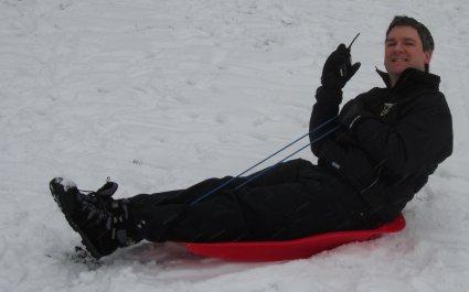 Pete M0PSX Snow Mobile