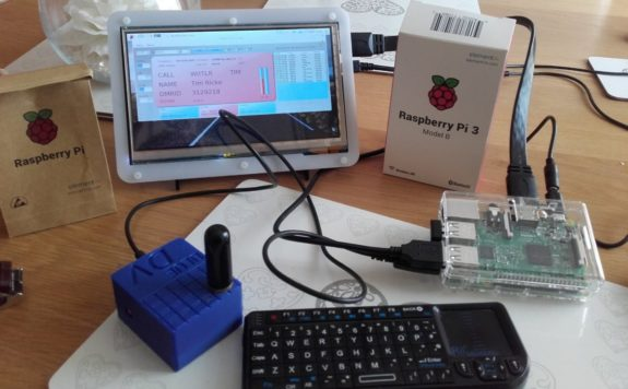 New for April - Steve M0SHQ's D-star Hotspot running on a Raspberry Pi3
