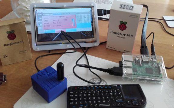 New for April - Steve M0SHQ's D-star Hotspot running on a Raspberry Pi3