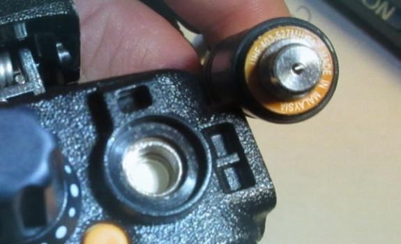 Moto DP4801 connector (Photo 1)