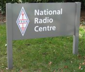 National Radio Centre Sign