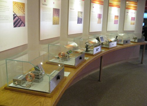 National Radio Centre Interactive Displays