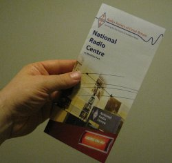 National Radio Centre Leaflet