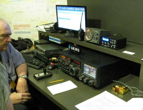 Amateur Radio Station Wb4omm: National Radio Centre – A First Look