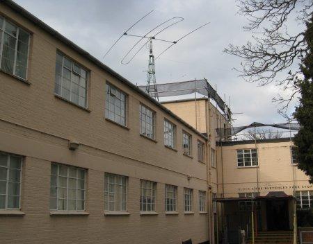 Bletchley Park Block B Roof
