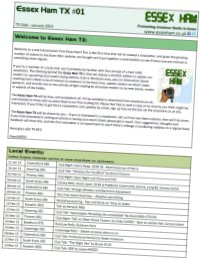 Essex Ham Newsletter Sample