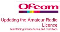 Proposed Licence Changes – Ofcom Consultation