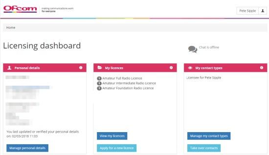 Ofcom Licence Portal