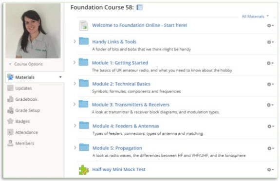 Foundation Online Classroom