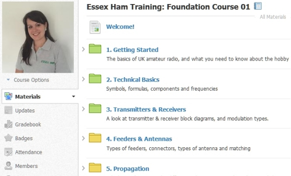 Essex Ham's Online Foundation Training Course