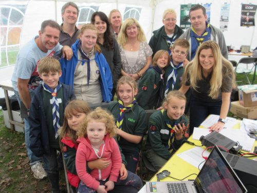 Basildon Scouts Jamboree On The Air 2014