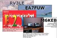 QSL Cards for M6 Foundation Licence Holders