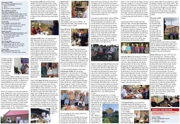 Amateur radio in Essex featured in Radcom Oct 2015