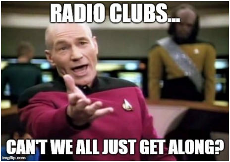 Radio Clubs - Can't we all just get along?