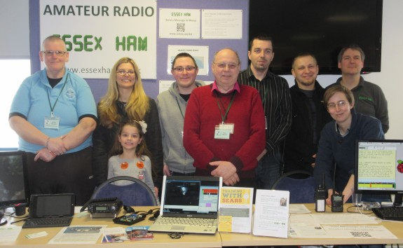 Essex Hams at Raspberry Jam Feb 15