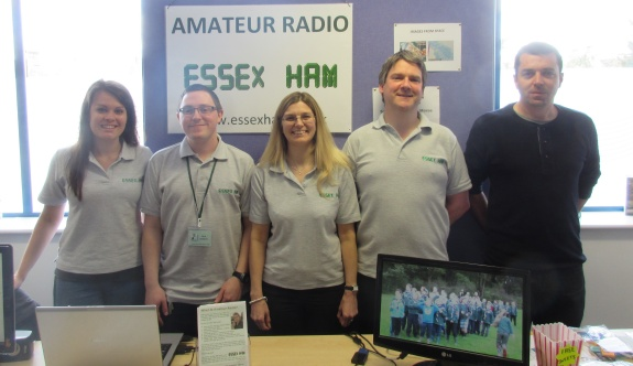 Kelly, Nick, Sarah, Pete & Charlie at the Southend Raspberry Jam May 2015