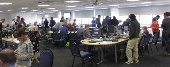 Ham Radio at the Raspberry Jam November 2014