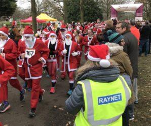 Essex RAYNET Santa Fun Run 2017