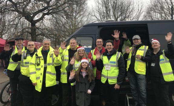 Essex RAYNET - Supporting the 2017 Farleigh Hospice Santa Fun Run