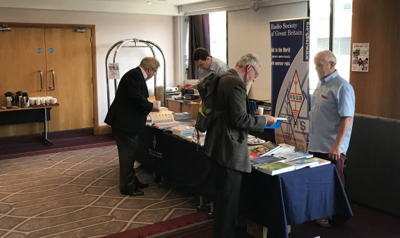 Bookstall at the RSGB AGM 2018