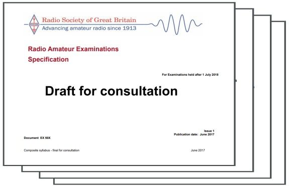 RSGB Syllabus Consultation Document
