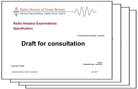 RSGB Syllabus Consultation Document