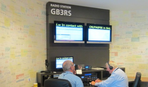Operating G100RSGB from the National Radio Centre