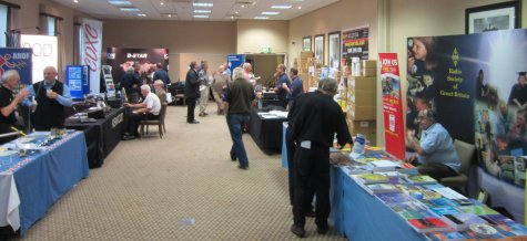 Exhibitors at RSGB Convention 2013