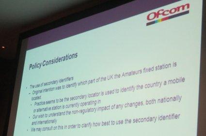 Ofcom Consultation Slides