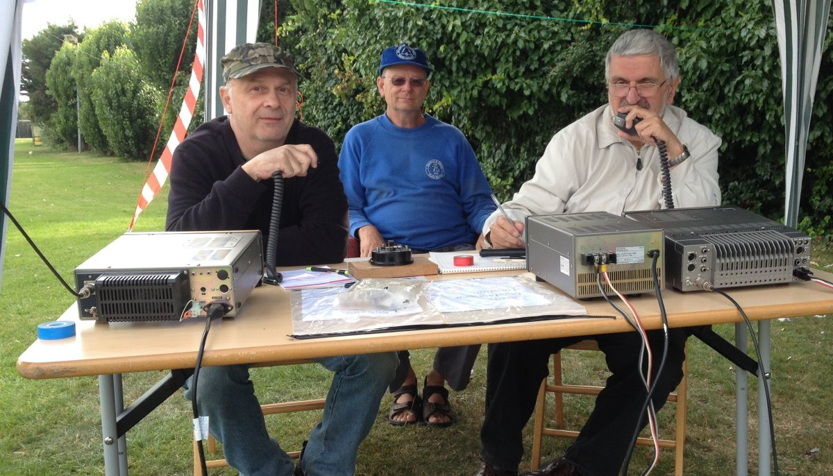 Southend & District ARS QRV at Ecko Sports & Social Aug 2014